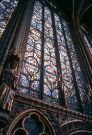 La Sainte-Chapelle, Stained Glass
