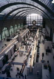 Musee d'Orsey, main hall
