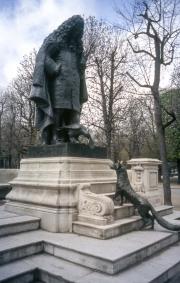 Statue of La Fontaine, Jardin du Ranelagh