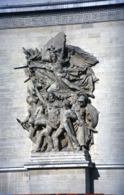 Sculpture on the Arc de Triomphe