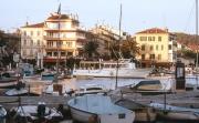 Sanary harbour, evening