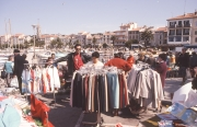 Clothing stall