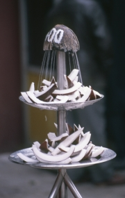 Coconut fountain