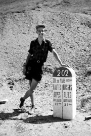 John at the Col de Vars