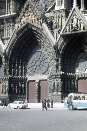 Reims Cathedral - main door