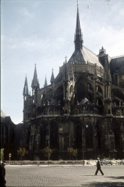 Reims Cathedral - Chevet
