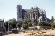 Le Mans Cathedral - Chevet