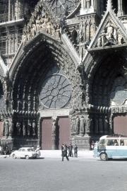 Reims Cathedral - main door