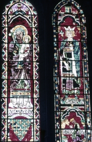 Chartres Cathedral - Window of St.Anne and Solomon