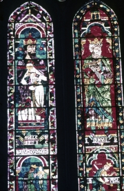 Chartres Cathedral - Melchisedech and David
