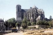 Le Mans Cathedral - Chevet