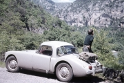 Bill and the MGA, Gorges du Tarn