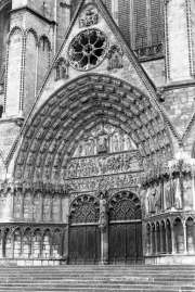 Bourges Cathedral door