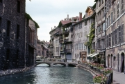 Classic view of Annecy