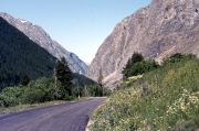 Road near La Grave