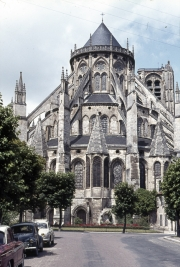Bourges Cathedral - Chevet