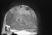 Tunnel outside La Grave