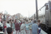 Arrival of the Club Med train