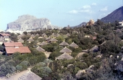 Club Med village and the rock