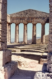 Interior of the Greek Temple