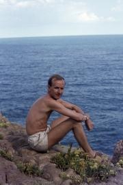 John on the rocks