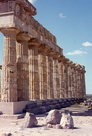 Greek temples at Selinunte