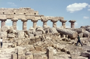 Greek temple ruins