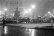 Snow in Piccadilly