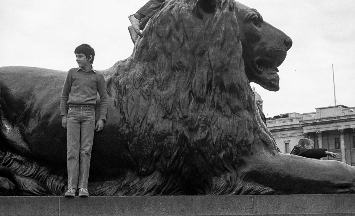 Bertrand in Trafalgar Square