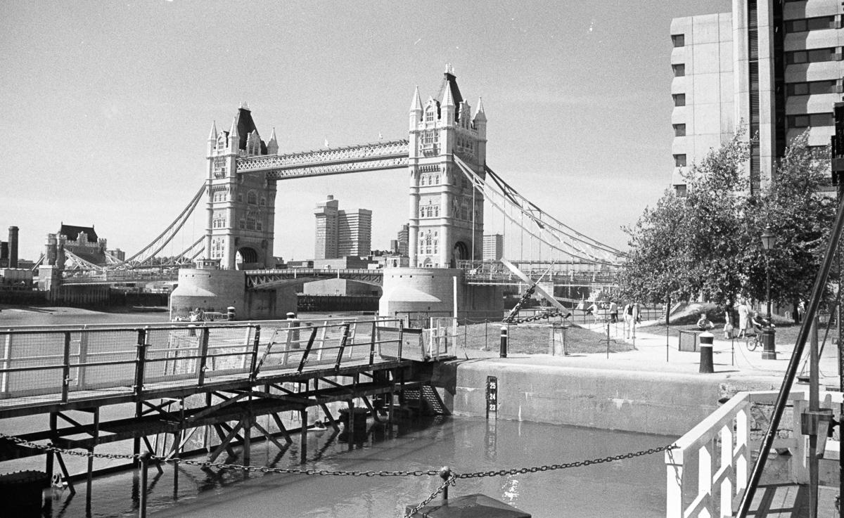 Tower Bridge from St Katharine's